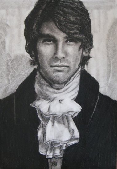 Justin Gaston by juliet